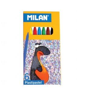 Set Milan 6 Plastipastel