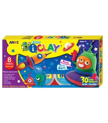 Pack iClay 8 colores
