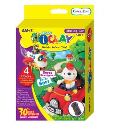 Pack I-Clay Coche 4 colores