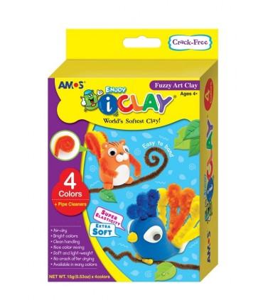 Set I-Clay 4 colores Rizos