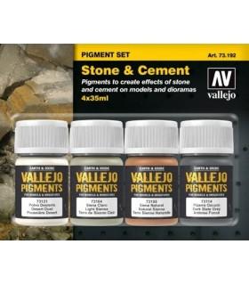 Set pigmentos Piedra y cemento 73192