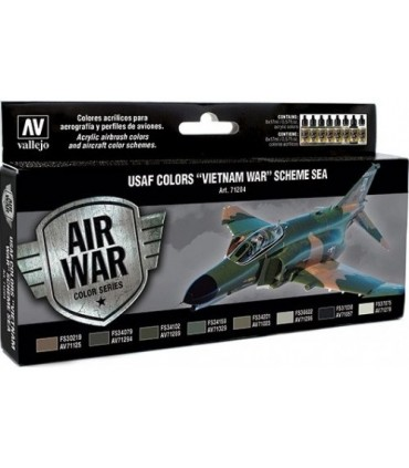 Set Model Air 71204USAF Colors Vietnam War Scheme SEA