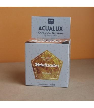 Acualux capsulas creativas metalizados