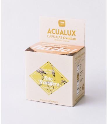 Acualux capsulas creativas foto transfers
