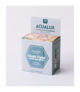Acualux capsulas creativas chalk paint multisuperficies