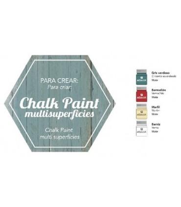 Acualux capsulas creativas chalk paint multisuperficies