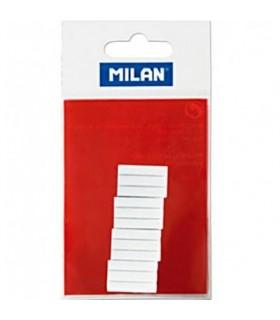 12 recambios borrador electrico blancos MILAN