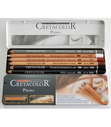 Estuche metálico Cretacolor Primo 400 06
