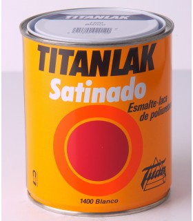 Titanlak White Synthetic Emaille 4L.