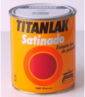 Titanlak Esmalte Preto Cetim 4l