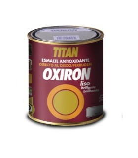 Oxiron liso brillante blanco y colores 4L