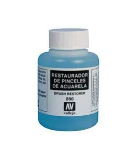 Restaurador de pinceles 890 Vallejo 85ml.
