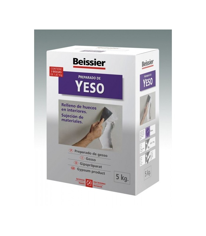Preparado de yeso Bessier 5kg