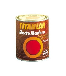 Titanlak 750ml effet bois