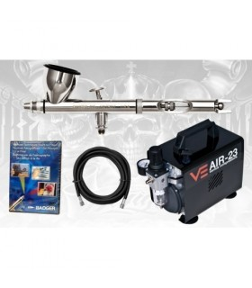 Badger Airbrush Kit + DVD