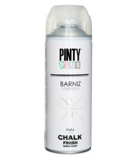 Barniz en spray para chalk paint Pintyplus