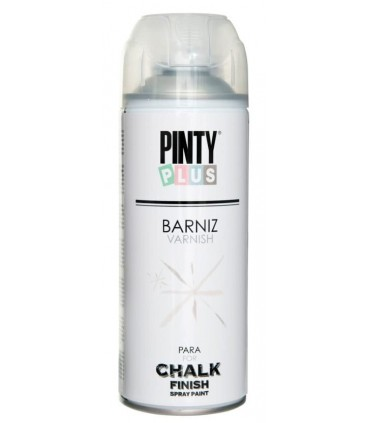 Barniz en spray para chalk paint Pintyplus