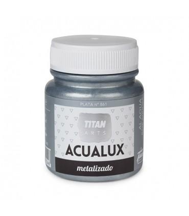 Acualux metallic satin Silver nº 861 Titan