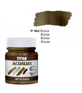 Acualux metalizado satinado Bronce nº 862 Titan
