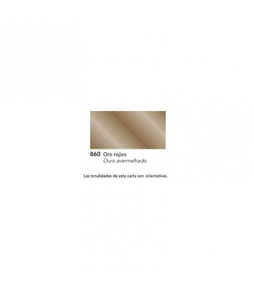 ACUALUX METALIZADO SATINADO ORO ROJIZO Nº 860 TITAN
