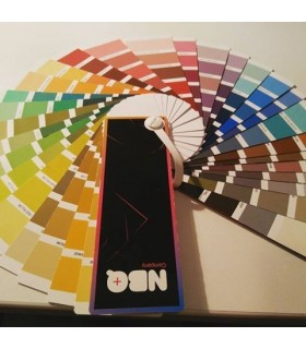 Buchstabe der Farben NBQ