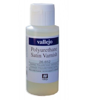 Satin polyurethane varnish 27652 Vallejo