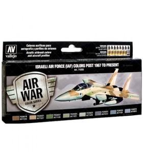 Set Modell Luft Israelische Luftwaffe (IAF) Farben Post 1967 zu präsentieren 71203 Luftkrieg