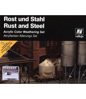 Set Modell Farben Auswirkungen von Stahl und Oxid 70150