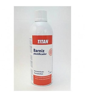 Spray Barniz Plastificador Titan 400ml