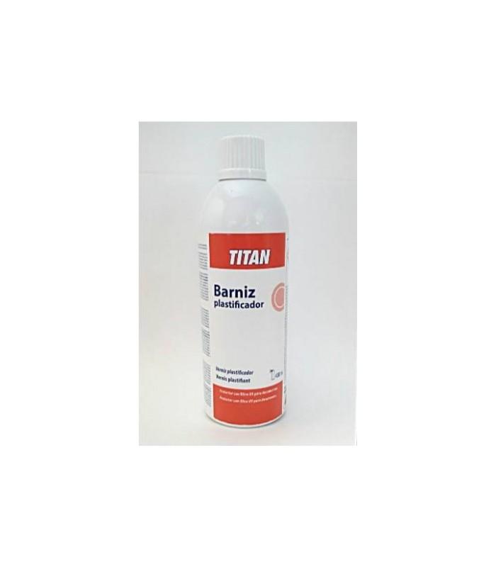 Spray Barniz Plastificador Titan 400ml