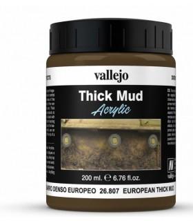 Vallejo Diorama Effekte europäischen dichten Ton 26807 200ml