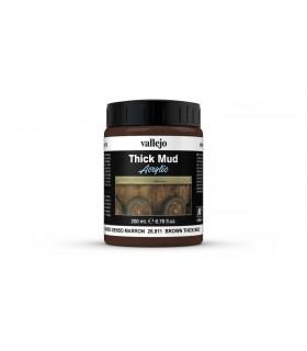 Vallejo diorama effetti denso marrone argilla 26811 200ml