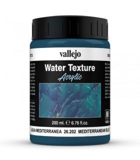 Vallejo diorama effettua l'effetto dell'acqua mediterranea 26202 200ml