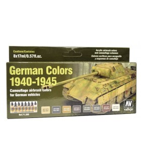 Set German Colors 1940-1945 Model Air Vallejo
