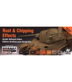 Set Rust & Chiping 71186 Model Air Vallejo