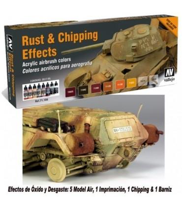 Set Rust & Chiping 71186 Model Air Vallejo