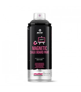 Spray MTN PRO Chalk Pizarra Imantada Negra 400ml