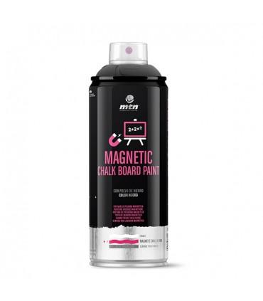 Spray MTN PRO Chalk Pizarra Imantada Negra 400ml