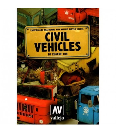 "Libro ""Civil Vehicles"" By Eugene Tur"