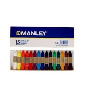 Manley incera una scatola di 15 u