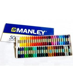 Manley incera una scatola da 50 u