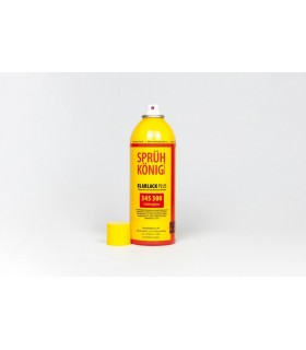 Spray de laca acabamento sedoso 400ml König 345 300