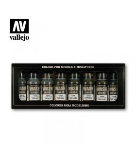 Set lavados Vallejo 8u. 73998