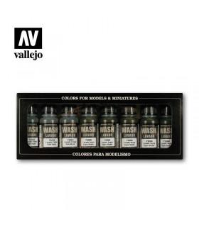 Wash set Vallejo 8u. 73998