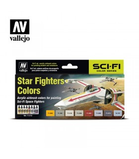 Set Vallejo Model Air 8 u. (17 ml.) Star Fighters Colors