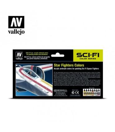 Set Vallejo Model Air 8 u. (17 ml.) Star Fighters Colors