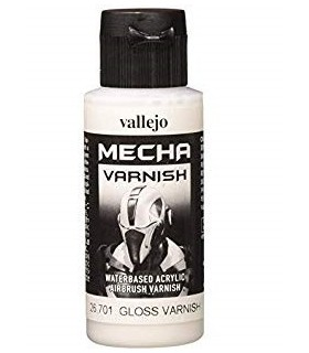 Mecha barniz brillante 60ml