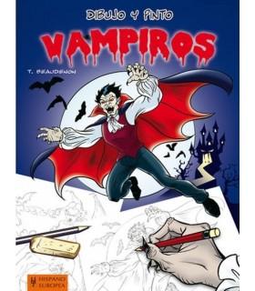 Dibujo y pinto Vampiros