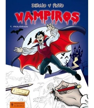 Drawing and painting Vampires