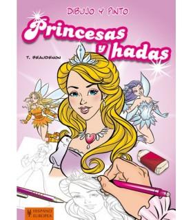 Desenho e pintura de princesas e fadas